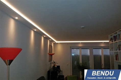 Esszimmer Le Indirektes Licht by Bendu Led Stuckleisten F 252 R Indirekte Beleuchtung