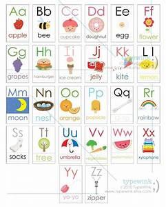 cute kawaii abc alphabet flash cards printable pdf With alphabet letter cards