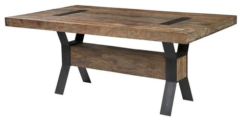 rustic industrial dining table industrial dining table rustic dining tables by zin home