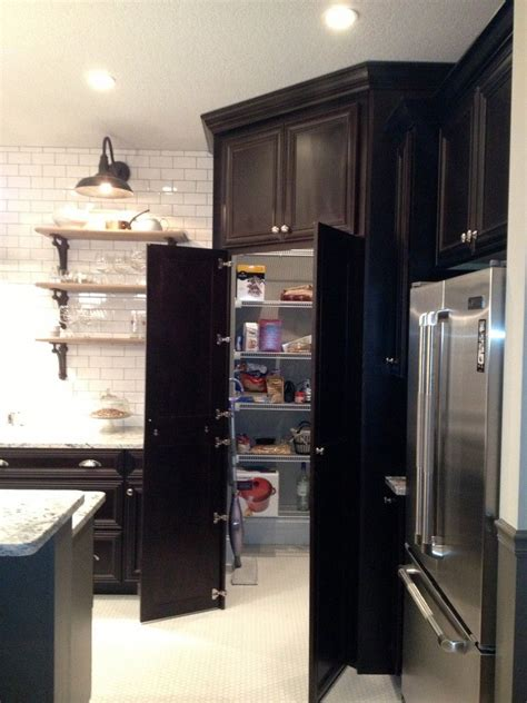 Corner Pantry Cabinet Ideas Decorative Pantry Cabinet Home Remodeling Traditional