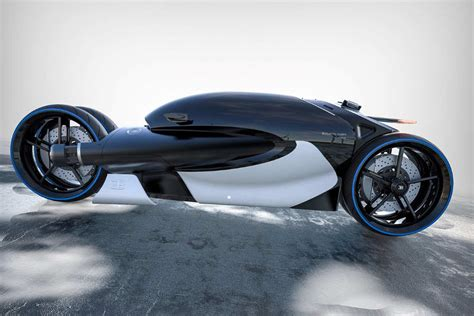 Bugatti Type 100M bike concept | wordlessTech