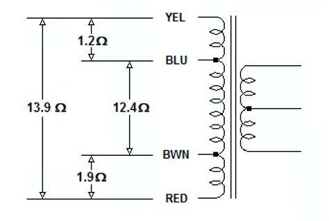ac wiring  step  transformer electrical