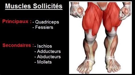 la chaise exercice musculation exercice musculation cuisses quot squat haltères quot