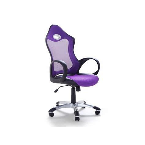 bureau violet chaise de bureau fauteuil design violet ichair achat