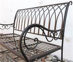 Gartenbank Metall 2 Sitzer : bank romina 90507 aus metall gartenbank sitzbank baumbank 2 sitzer 110cm braun kaufen bei ~ Indierocktalk.com Haus und Dekorationen