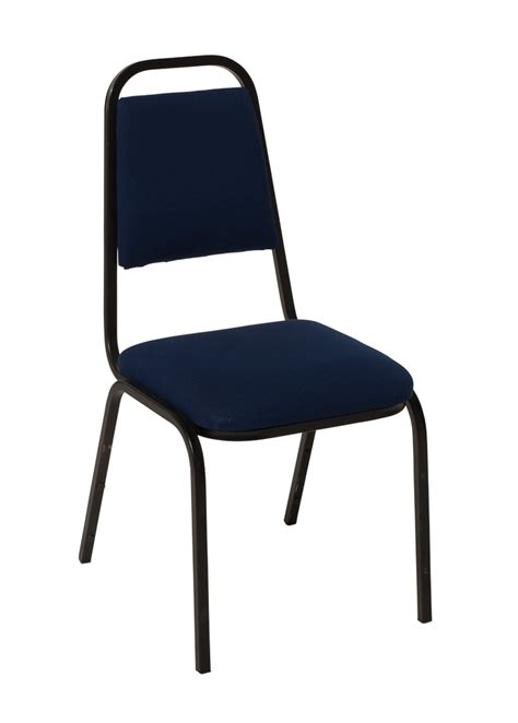 dining chair stacking indoor navy blue upholstered