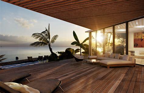 Modern Beach House Design Abu Dhabi United Arab
