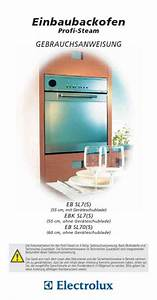 Electrolux Ebsl70sw Oven Download Manual For Free Now