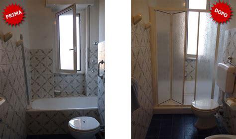 trasformare doccia in vasca da bagno quanto costa trasformare la vasca da bagno in doccia