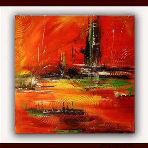 Kunst Online Shop : burgstallers abstrakte gem lde original bilder kunst malerei unikat stromboli http www ~ Orissabook.com Haus und Dekorationen