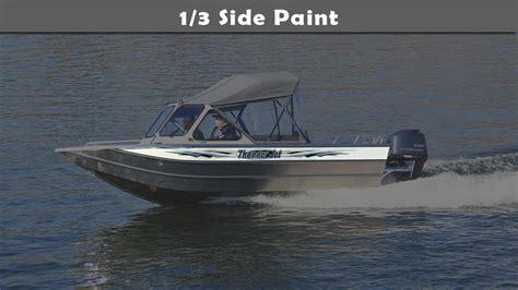 Slick Aluminum Boat Paint by 185 Explorer Aluminum Boat Manufacturer Thunder Jet