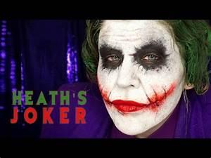 HALLOWEEN MAKEUP TUTORIAL NINE Heath Ledger's Joker from ...