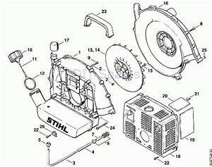 Stihl Leaf Blower Parts Diagram