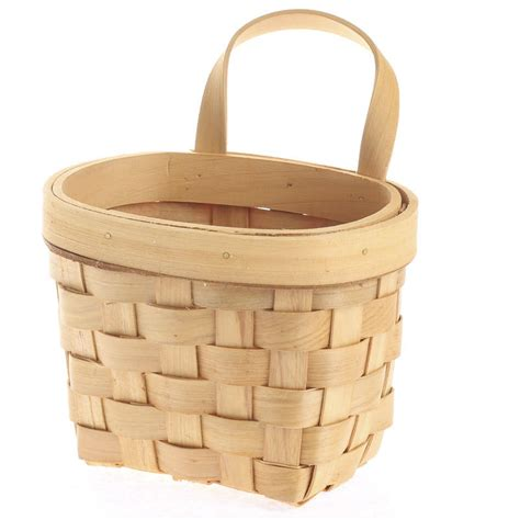 Natural Woodchip Wall Basket  Baskets, Buckets, & Boxes