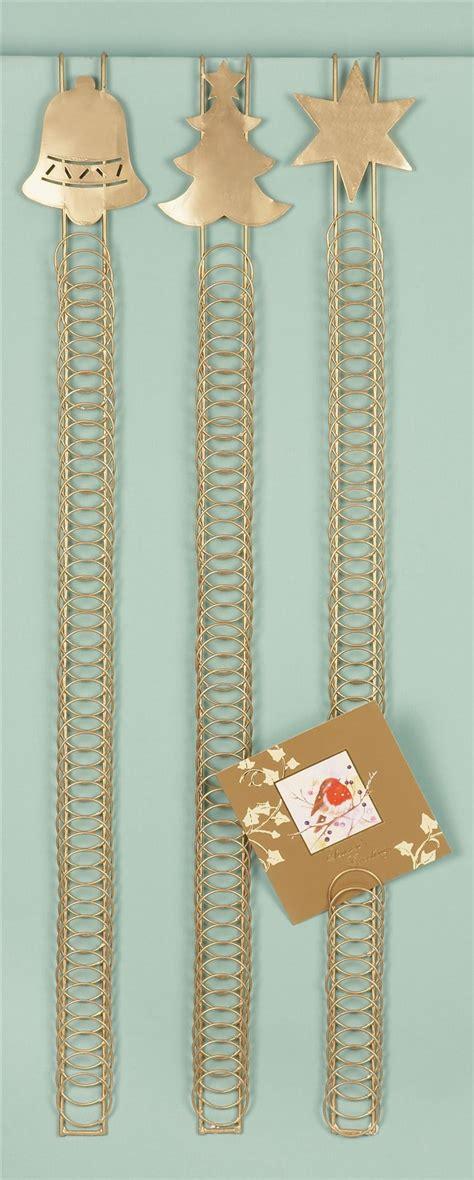 door hanging christmas card holder 90cm 50 card over door card holder xmas christmas hanging wire home display ebay
