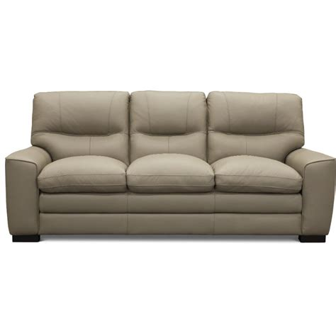 Leather Sofa Store by Contemporary Beige Leather Sofa Glasgow Rc Willey