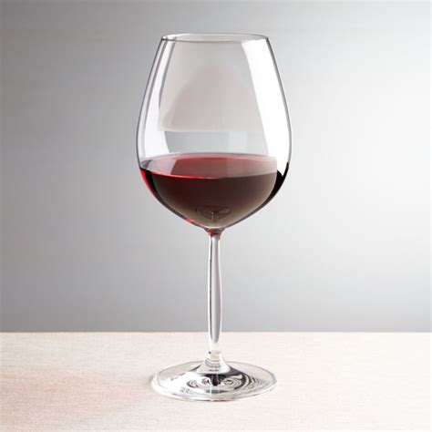 Vino Red Wine Glass + Reviews | Crate and Barrel