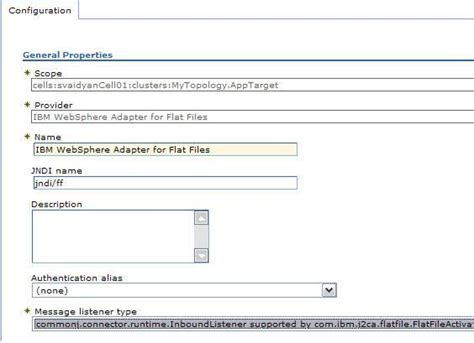 deploying and configuring websphere adapters in a