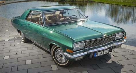old opel opel boss enters classic event with his own diplomat a v8