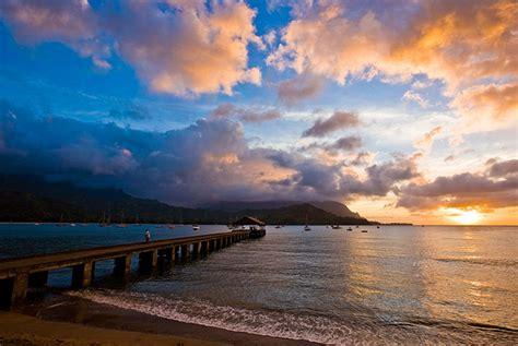 hawaii hanalei kauai bay tourism sunset pier tor hta authority johnson