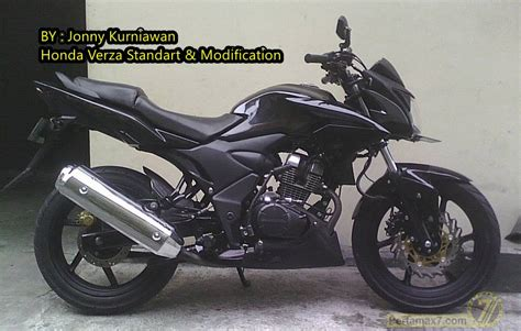 Honda Verza Modifikasi by Modifikasi Honda Verza Dengan Air Shroud Yamaha New V
