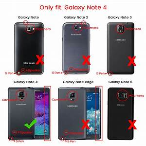 For Samsung Galaxy Note 5  4 Luxury Magnetic Cover Stand