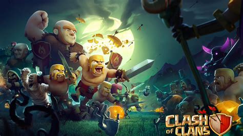 Clash Of Clans Backgrounds Clash Royale Hd Wallpaper Free Download Pc Computer Desktop