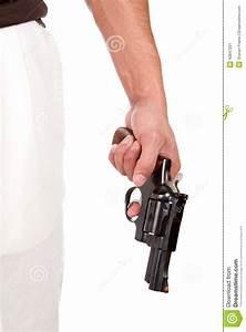 Violent Man Holding Gun Stock Photo - Image: 43847201