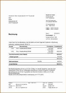 H Und M Rechnung : 19 wie schreibe ich eine rechnung richtig vorlagen123 ~ Themetempest.com Abrechnung