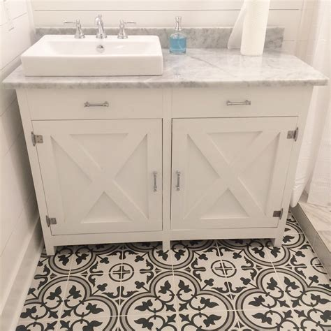 farmhouse vanity with marble top brand