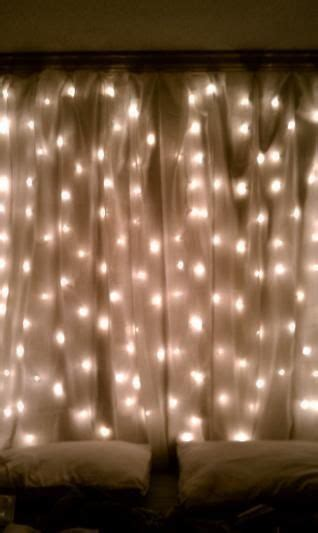 curtains with lights 20 amazingly pretty ways to use string lights