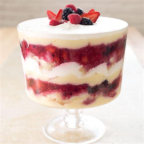trifle recipe berry trifle recipe dishmaps