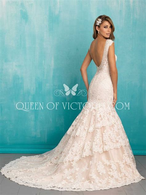 backless wedding dress lace mermaid cap sleeves v neck lace backless wedding