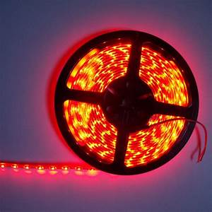 Ruban Led Rouge : ruban led economique smd 3528 tanche 60 leds m rouge ~ Edinachiropracticcenter.com Idées de Décoration