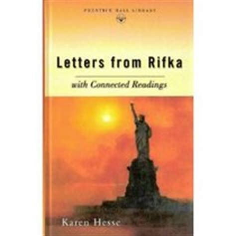 letters from rifka letters from rifka hesse 0134375025 used book