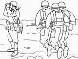 Army Coloring Military Printable Colouring Sheets Printables Cool2bkids Disimpan Template Dari sketch template