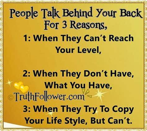 People Who Talk Behind My Back Quotes