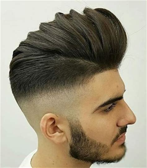 striking medium length hairstyles  men