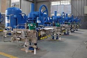 Gate Valves Double Acting Air Linear Actuator Carbon Steel