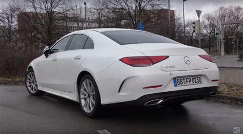 So war zwischen 2004 und 2006 ein fahrzeug mit. 2018 Mercedes-Benz CLS 350 Looks Underwhelming in White - autoevolution