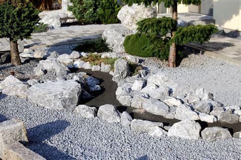 Steine Im Vorgarten by Steinbeet Im Vorgarten 187 Planung Durchf 252 Hrung Und