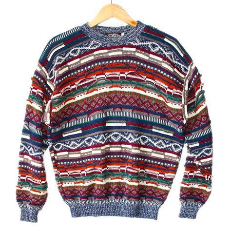 what is a cosby sweater textured colorful horizontal stripe cosby sweater the