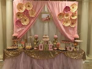 wedding theme pink gold birthday party ideas 2411518