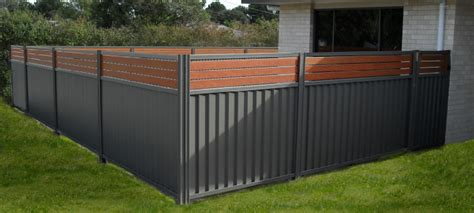 diy horizontal fence colourbond fencing tropical pools