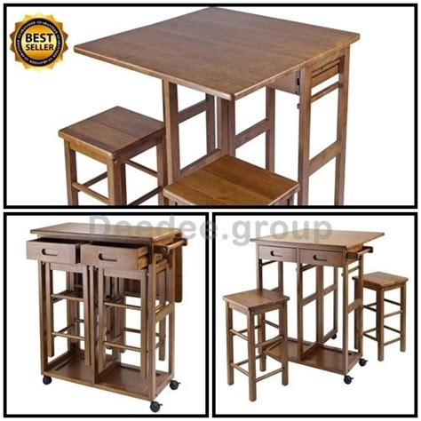 table stool cart drop leaf island kitchen bar breakfast