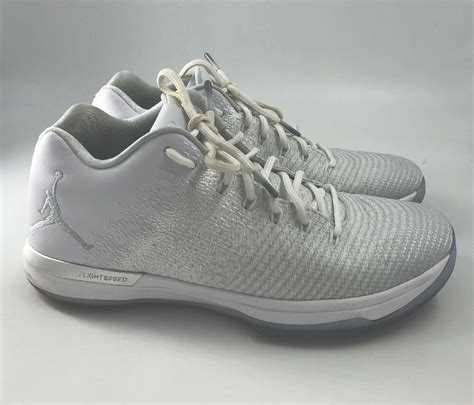 Rare🔥 Nike Air Jordan Xxxi 31 Low Pure Platinum Silver