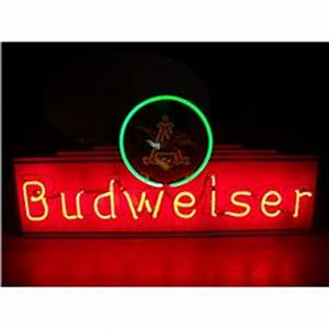 Budweiser King of Beers NEON Sign 14