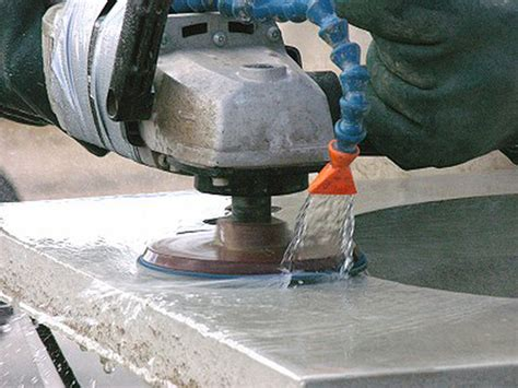 Polishing Countertops - how to clean and solid surface countertop solid