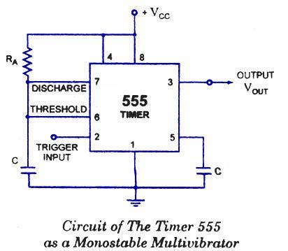 monostable oscillator circuit page  oscillator circuits