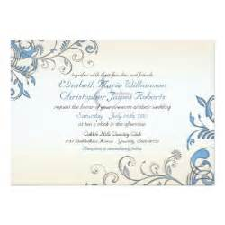 Elegant Wedding Invitation Borders